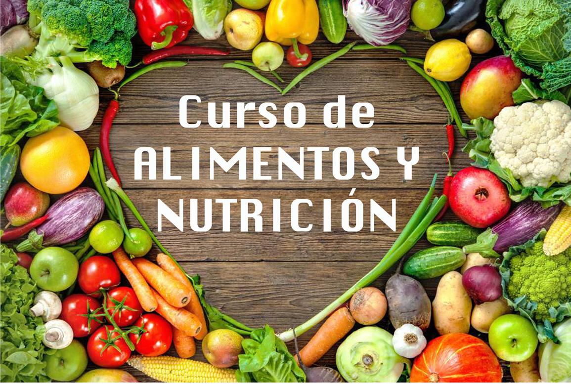 CURSO DE ALIMENTOS Y NUTRICIÓN